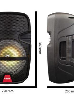 Колонка Bluetooth MP3 FM караоке Cmik MK-A11
