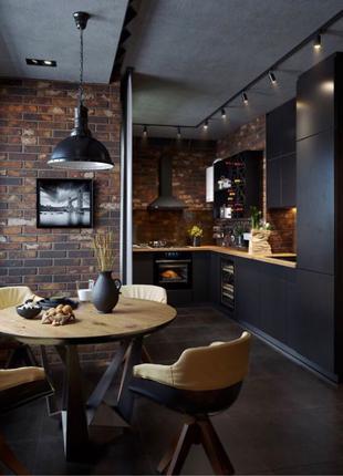 Кухня в стиле лофт под ваши размеры
