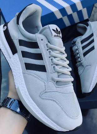 Стильные мужские кроссовки adidas zx 500 rm
