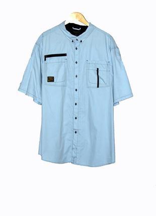 Батальная мужская тенниска/рубашка с коротким рукавом большого...