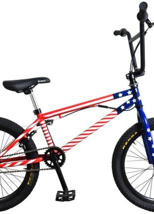 "Велосипед Titan BMX Flatland 10"" US flag (20TJBMX19-420)"