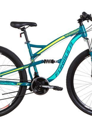 Велосипед 29″ Formula SPARK AM2 14G DD St 2019 (бирюзовый)