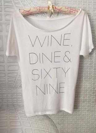 Дизайнерская футболка от европейского эко-бренда сontinental