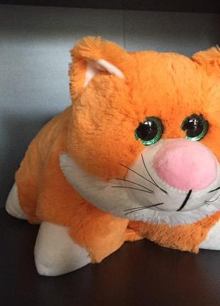 Іграшка-подушка. Руденький котик