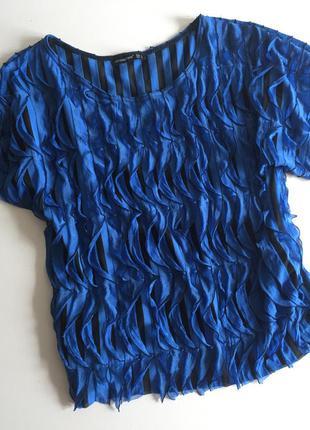 Оригинальная блуза с воланами от atmosphere