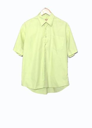 Мужская натуральная рубашка с коротким рукавом/тенниска toronto