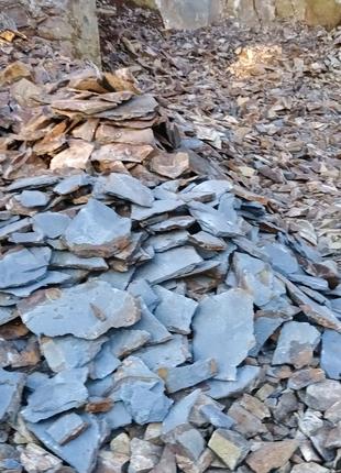 Каминь облицювальний (андезит),соломка обрiзна  ,Закрпатський