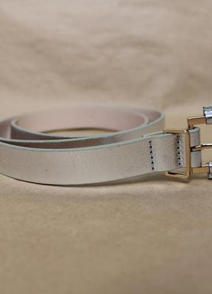 H&m серебряный ремень серебристый пояс женский