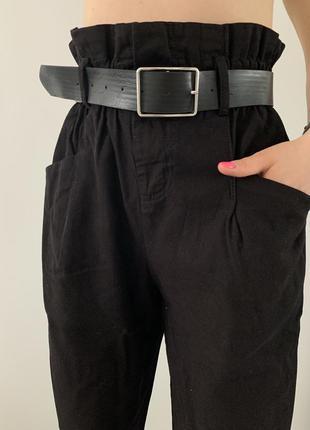 Круті джинси з резинкою на талії, штани з високою посадкою та ...