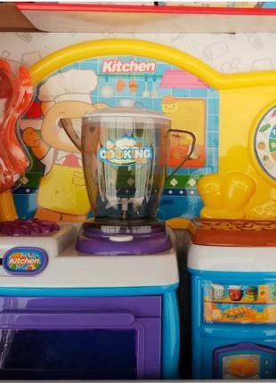 Детский игрушечный набор Кухня с посудкой 818-93А