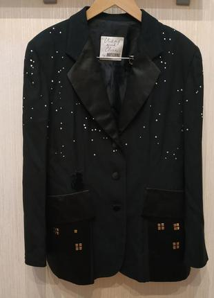 Cheap and chic by moschino винтаж пиджак