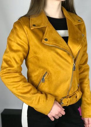 Куртка косуха эко-замш