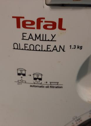Фритюрница TEFAL Family Oleoclean