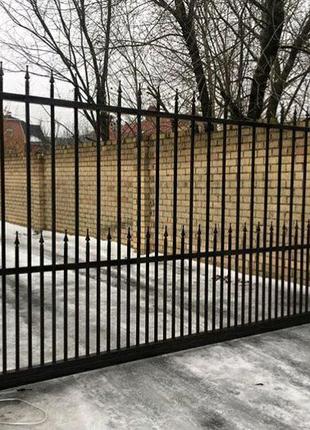 Ворота, решетки, перила, калитка, лестница