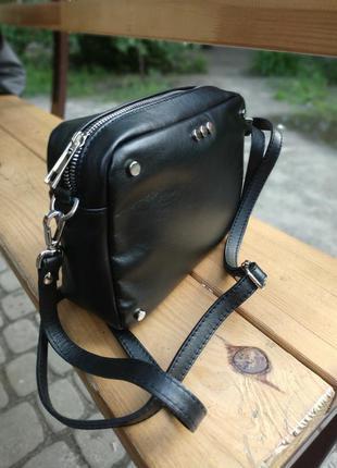Кожаная сумка. италия
