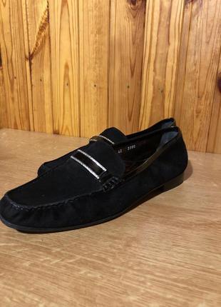 Замшевые туфли италия!