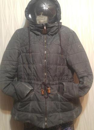 «розвантажуюсь» стильная утепленная куртка в винтажном стиле)