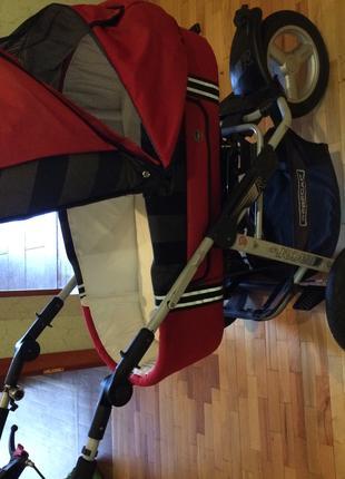 Детская коляска 2 в 1  Bebecar Racer Sport
