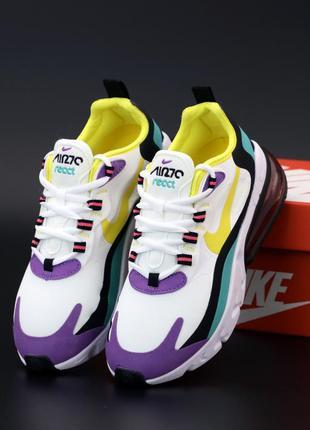 👟 женские кроссовки nike air max 270 react (арт. 12128) 👟