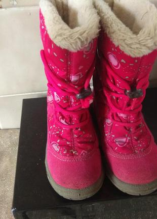 Шикарные термо ботинки 16см австрия