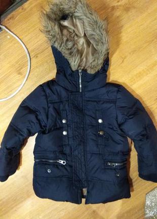 Куртка zara 92-98 размер
