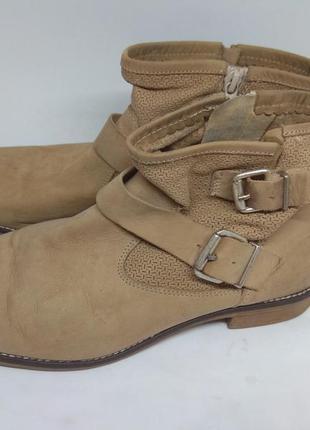 Кожаные деми ботинки 40 размер