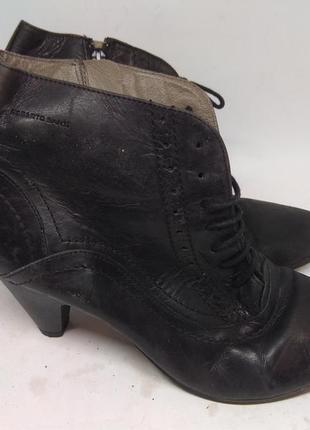 Кожаные ботинки 42 размер