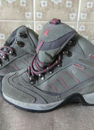 Замшевые термо ботинки 35 размер