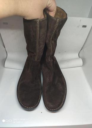 Замшевые деми ботинки 39 размер