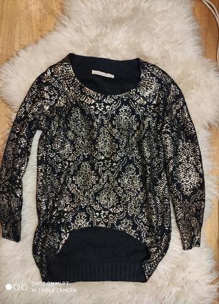 Шикарный свитер 48 размер