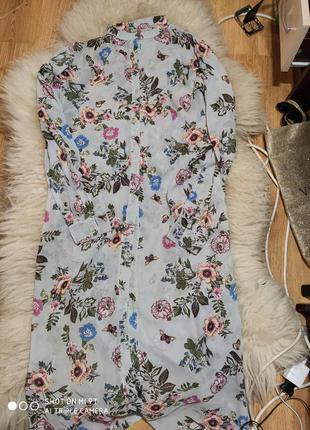 Платье-рубашка 46 размер