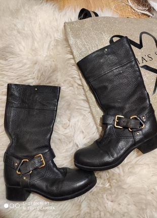 Кожаные деми ботинки 36 размер