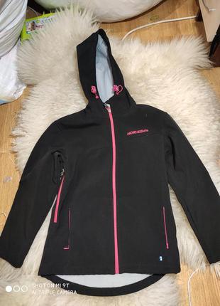 Деми куртка софтшелл 140-146 размер