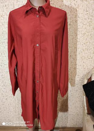 Платье рубашка 52-54 размер