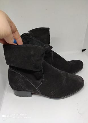 Замшевые деми ботинки 38 размер германия