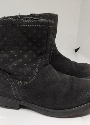Замшевые деми ботинки 29 размер