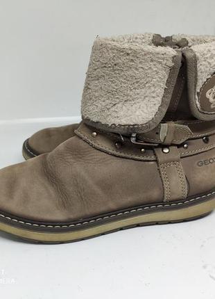 Кожаные деми ботинки 30 размер