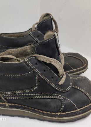 Кожаные туфли 28 размер