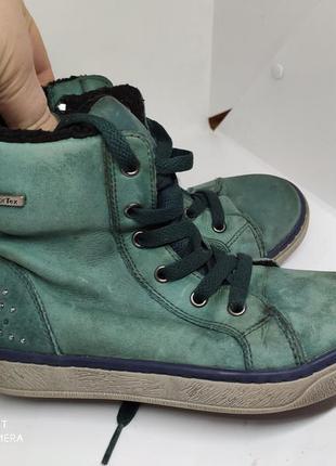 Кожаные термо ботинки 31 размер