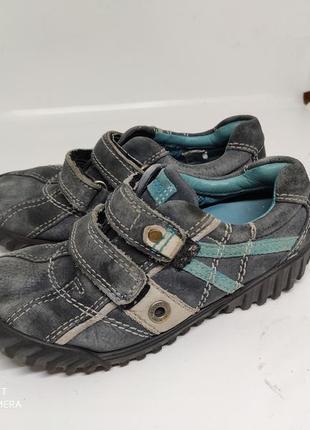 Кожаные туфли 30 размер