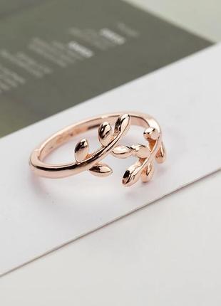 Кольцо под золото, украшение , розовое золото