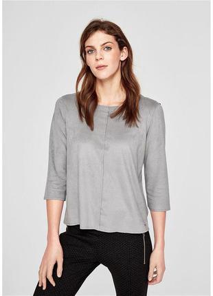 Блуза под замшу 50 размер