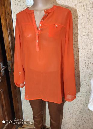 Шикарная блуза 50 размер