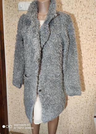 Вязаное пальто 50-52 размер