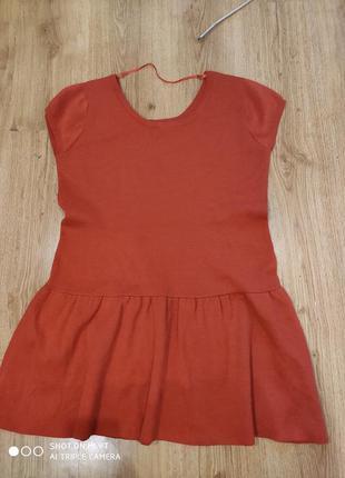 Тёплое платье 50 размер
