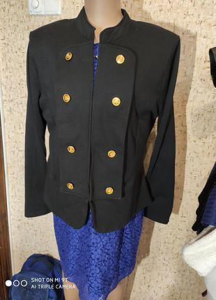 Винтажный пиджак 50 размер