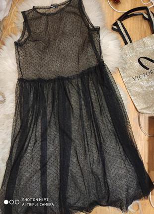 Платье сетка 48 размер