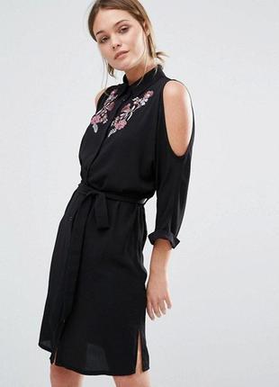 Платье рубашка 42-44 размер