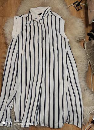 Платье рубашка 50 размер