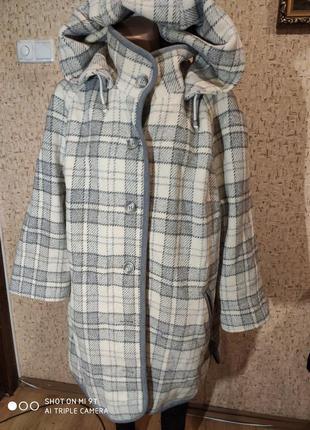 Шерстяное пальто 54-56 размер германия